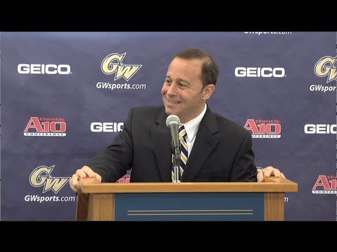 GW Introduces Patrick Nero as New Director of Athletics