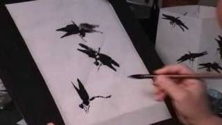 How to Draw Dragonfly - a Chinese Painting Tutorial