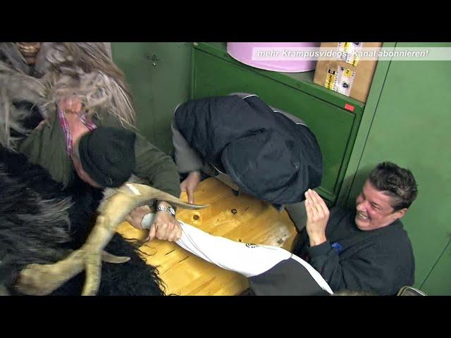 NEU: Krampuslauf Bad Gastein 2019 - das Krampus Tischziehen (