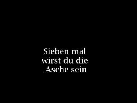 09-Die Priester~Über Sieben Brücken Musst Du Gehn (Lyrics)