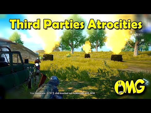 Third Party Atrocities In PUBG Mobile😓😓