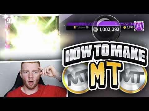 HOW TO MAKE MT IN MYTEAM (BEST WAY)!! QUICKEST METHOD! (NBA 2K20 MYTEAM)