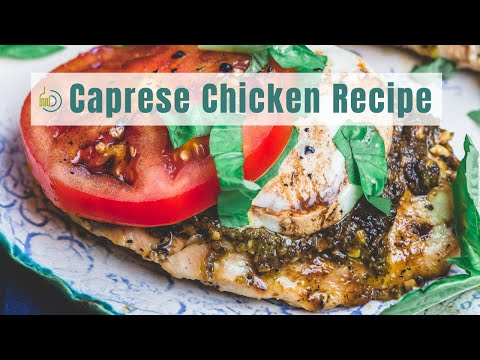 Easy Low-Carb Dinners Caprese Chicken Recipe