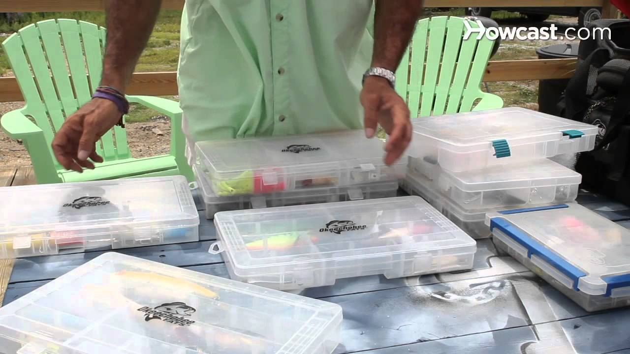 How to Organize a Tackle Box