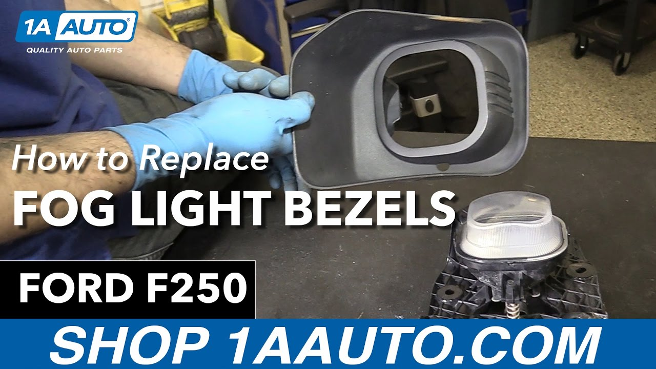How to replace install fog light bezels 2013 ford f 250 buy quality auto parts at 1aauto com
