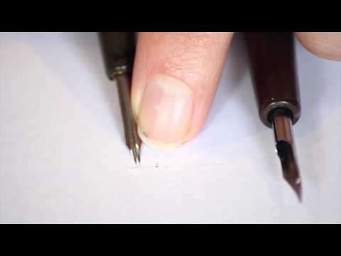 Dip Pen and Crow Quill Pen