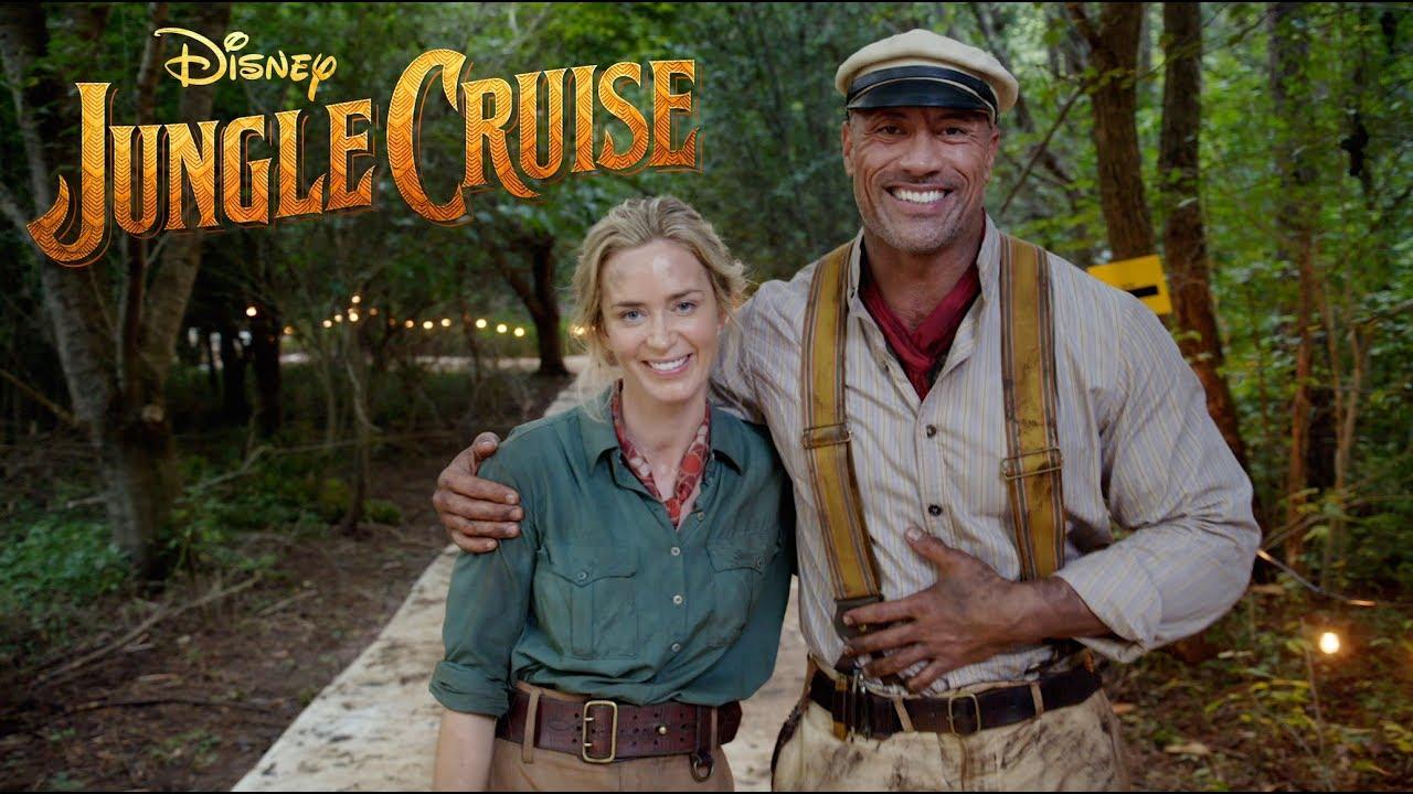 Filem Jungle Cruise Lakonan The Rock