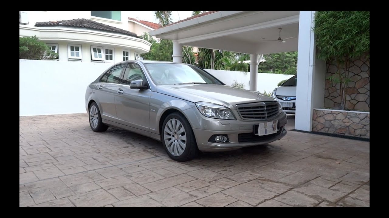 2009 mercedes benz c 200 kompressor elegance start up and full vehicle tour youtube. Black Bedroom Furniture Sets. Home Design Ideas