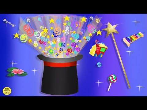 Развивающий мультик для малышей – волшебная шляпа. Развивающие мультфильмы для детей
