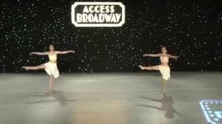Let Her Go lyrical dance duo Access Broadway
