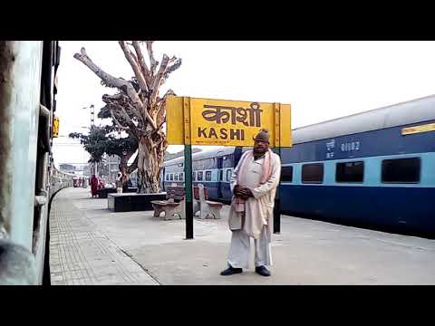 A journey from Varanasi to Mughal sarai FULL HD VDO,onboard in 18312 varanasi-sambalpur SF Express