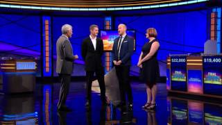 Jeopardy! | Tournament of Champions 2015 Post Game Chat 11/12