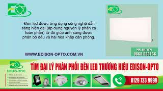 Đèn led panel tấm giá rẻ nhất Hà Nội - Bán đèn led tấm panel âm trần 300x300mm, 600x600mm siêu mỏng