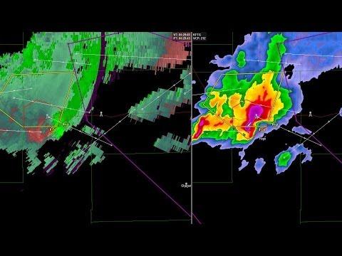 Radar Loop - Hugo, Colorado Wedge Tornado - 04 June, 2014