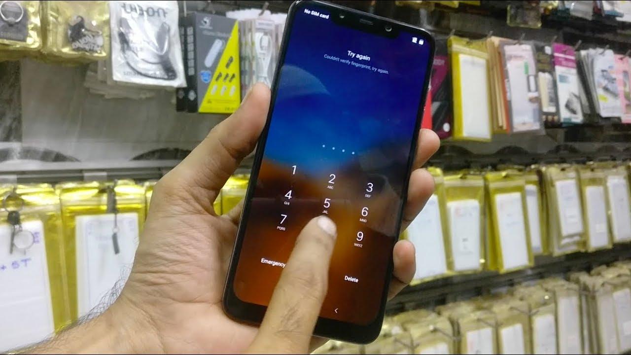 Xiaomi POCO F1 Hard reset Mi forgot pattern password lock   YouTube
