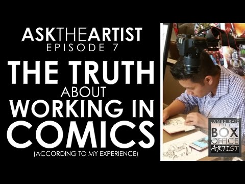 THE TRUTH About WORKING IN COMICS (well... My Experience Anyways) - ASK THE ARTIST Ep07
