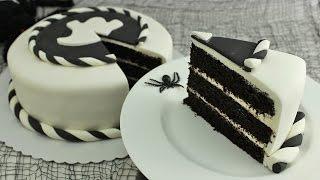 Black Velvet Cake Halloween Woche #1