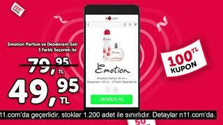 Emotion Parfüm Seti İndirimli Fiyatıyla n11'de!