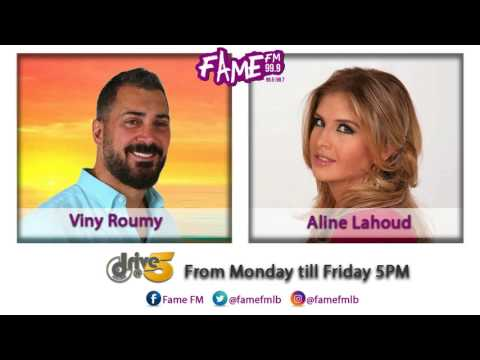 Aline Lahoud interview with Viny Roumy in #DriveAtFive