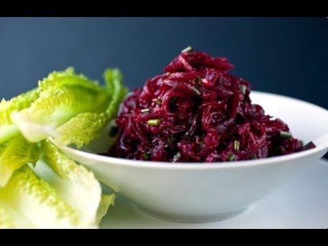 Salata i sok od cvekle ( za anemiju i visok pritisak)