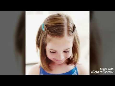 اجمل وارق تسريحات اطفال سهله وبسيطه للمدارس والمناسبات للشعر الطويل والقصير Youtube