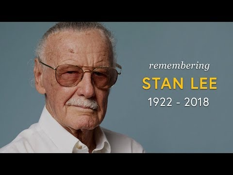 Dan Joyce - Stan Lee of Marvel Comics Dead at 95