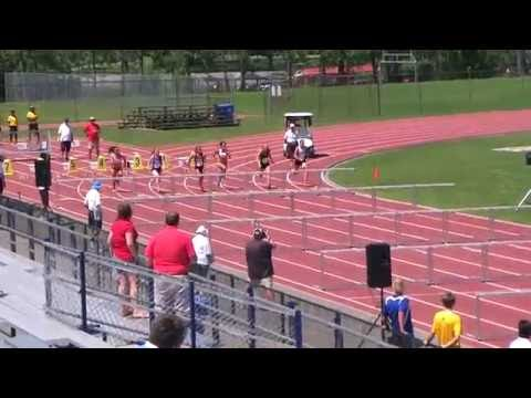 Pan Am Cup Womens 100 meter hurdles Section 1