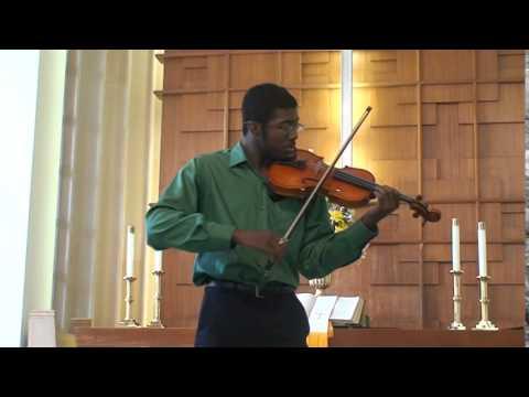 David Saxton performs Concerto No  3, 1st movement by F. Seitz