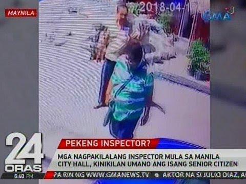 Mga nagpakilalang inspector mula sa Manila City Hall, kinikilan umano ang isang senior citizen