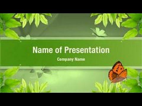 Nature PowerPoint Video Template Backgrounds - DigitalOfficePro - nature powerpoint