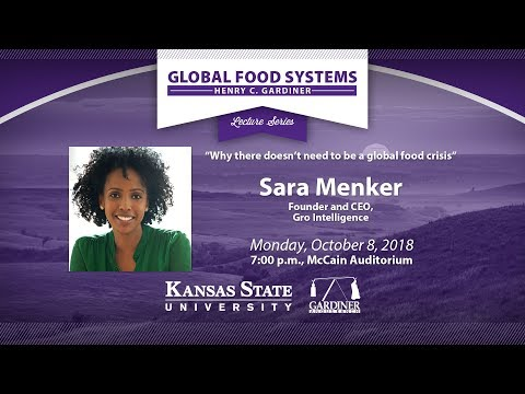 Sara Menker | Henry C. Gardiner Global Food Systems Lecture