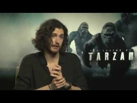 Hozier interview 2016 for 'The Legend of Tarzan' and 'Better Love'