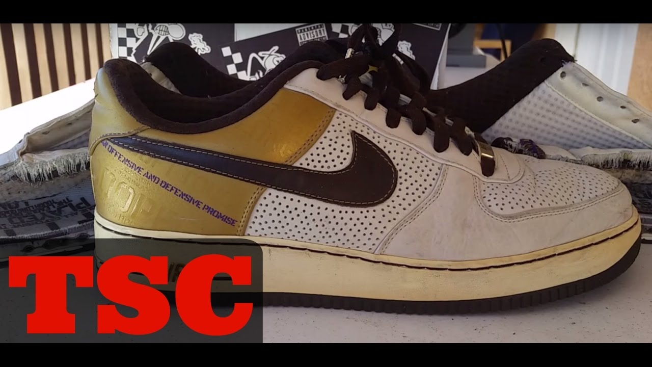 bdff8d82bb8b The Sneaker Chop Nike Air Force 1 - YouTube