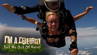 Jorgie Porter And Susannah's Unbelievable Helicopter Skydive | I'm A Celebrity...Get Me Out Of Here!