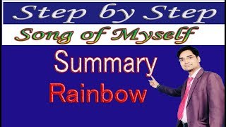 """""""Song of Myself"""" by Walt Whitman (SUMMARY)"""