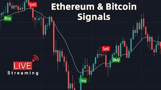 Live Bitcoin & Ethereum Signals | ETH | BTC | USDT - Live Streaming