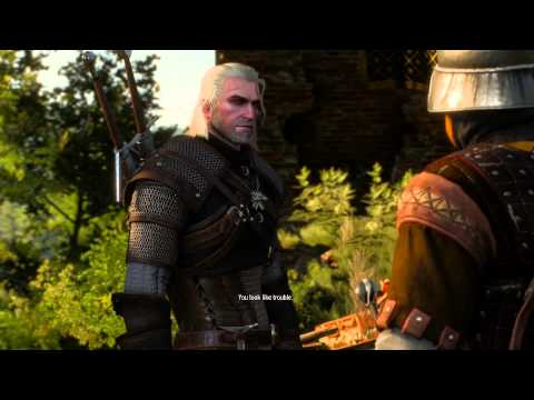 The Witcher 3: Wild Hunt Gameplay Video part 2 Ведьмак 3: Дикая охота