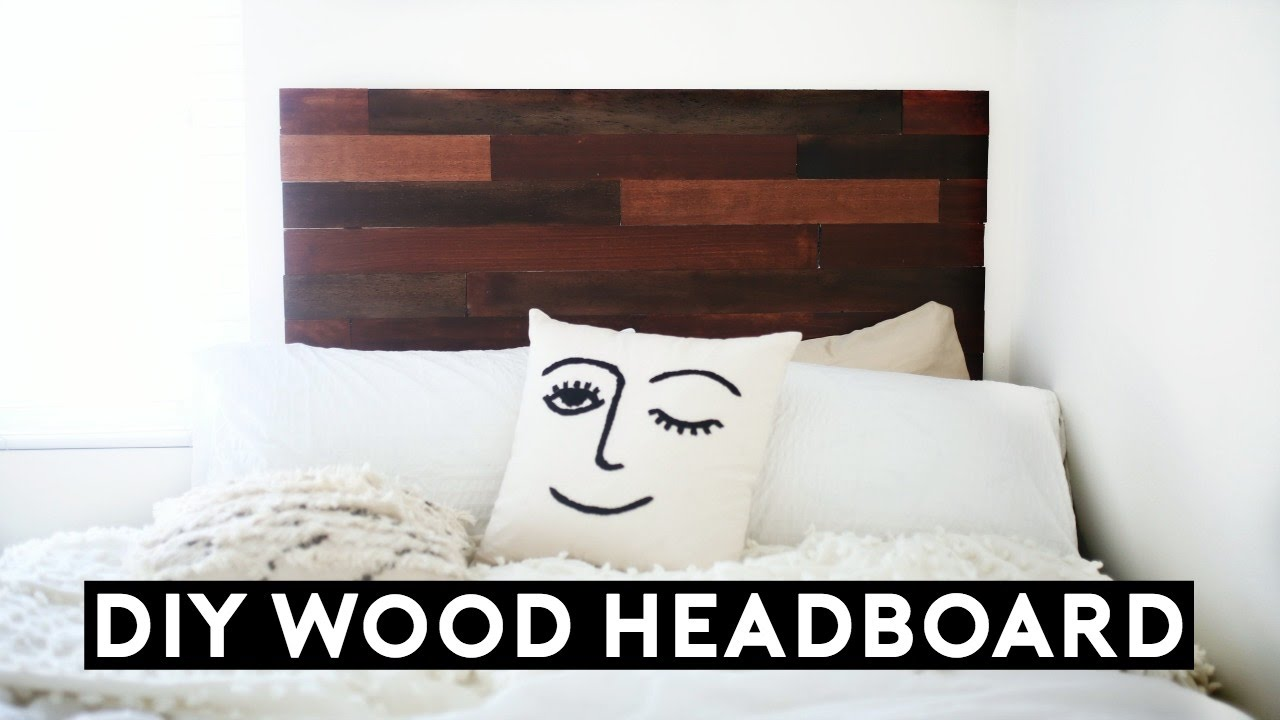Diy Wood Headboard Tumblr Inspired Under 50 Affordable Room
