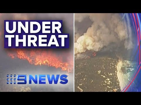 SA Bushfires: Emergency Fires Threaten Two Kangaroo Island Towns | Nine News Australia