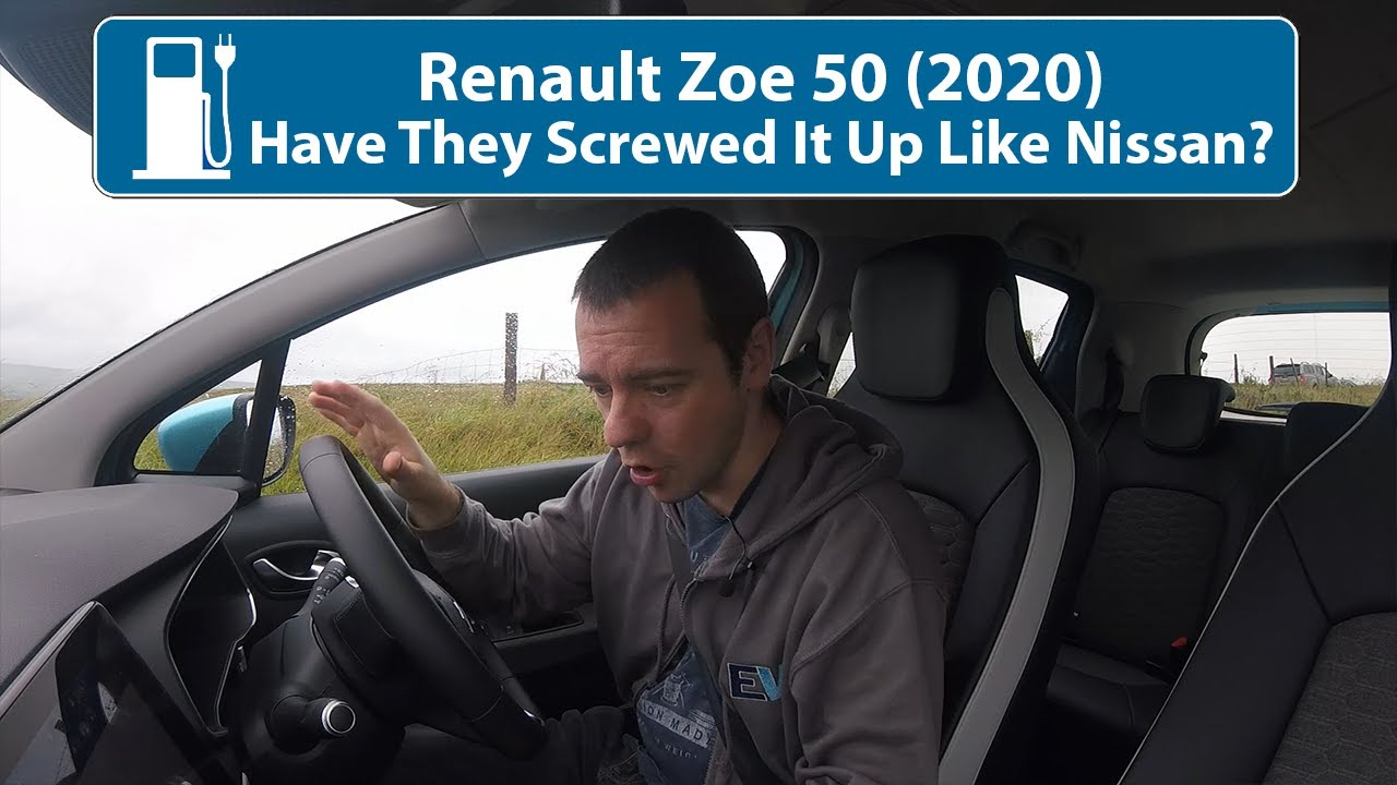 Renault Zoe 50 - Have They Screwed It Up Like The Leaf Or Is It Actually A Good Refresh?!