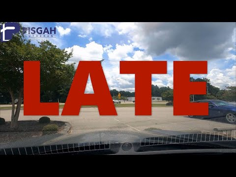 Word for Wednesday : Late