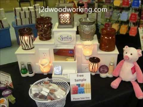 Scentsy Displays Ohio By J2DWoodworking