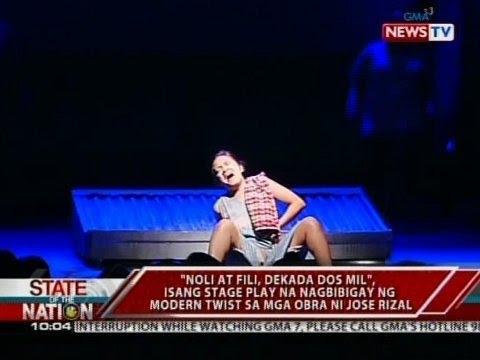 rizal stage play Nalaman ko na ang noli me tangere ay hango sa totoong buhay ni rizal at ito rin ay nakatuon tungkol sa pangaapi ng mga kastila sa mga pilipino na kagaya ni rizal na.