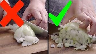 5 conseils de cuisine d'un chef professionnel pour couper les légumes