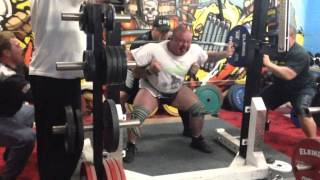 """380kg 2 x 2 """"Raw"""" - 6 weeks out from CAPO Nationals 2013 """"Hobart"""""""