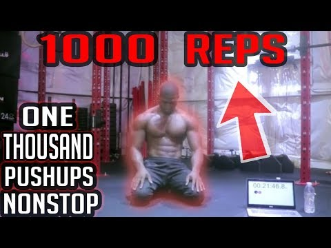 Doing 1000 Pushups In Less Than Two Hours
