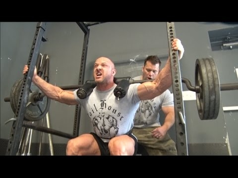 Hatfield Overload Squats for Hypertrophy