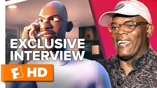 Samuel L. Jackson Reveals What Frozone's Wife May Look Like | UNCUT Incredibles 2 Cast Interviews