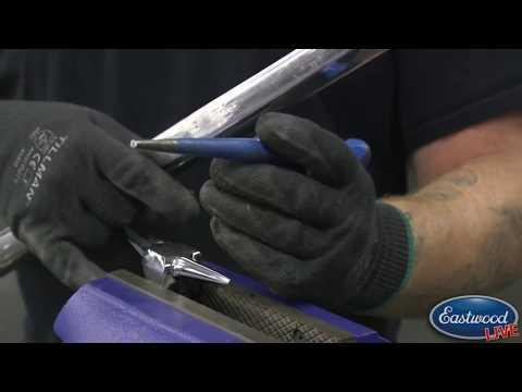 How To Repair Stainless Trim!  Metal Repair At Eastwood.
