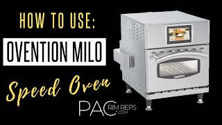 Ovention Milo Speed Oven Demo at Bargreen Hawaii | Pizza & Fries | 2019